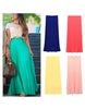 Long Chiffon Skirt - 7 colors - Awesome World - Online Store  - 1