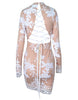 Glam Edition - All Yes on You Back White Sequins Dress - Awesome World - Online Store  - 1