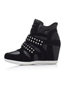 Wedge Rivets Sneakers - 2 colors - Awesome World - Online Store  - 1