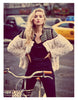 Faux Fur Studded Coat - Awesome World - Online Store  - 1