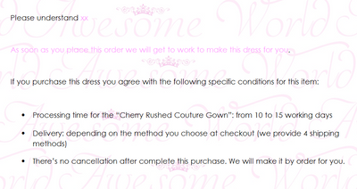 Cherry Rushed Couture Gown - Awesome World - Online Store  - 6