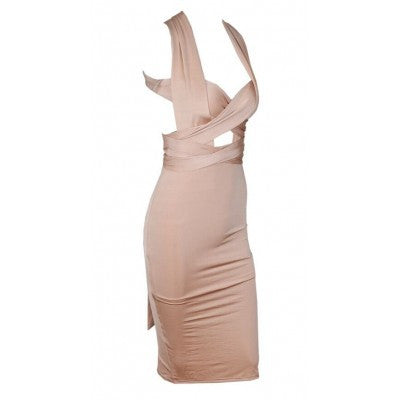 X Nude Backless Maxi Dress - 2 colors - Awesome World - Online Store  - 4