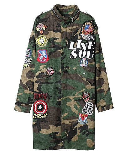 Street Style Army Jacket - Limited Stock - Awesome World - Online Store  - 1