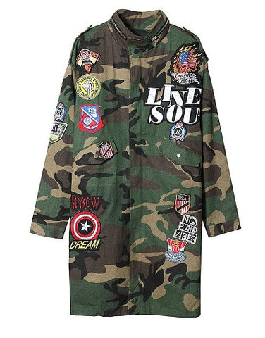 Street Style Army Jacket - Limited Stock