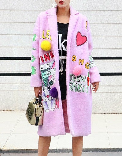 Street Style Fluffy Jacket - Limited Stock - Awesome World - Online Store  - 1
