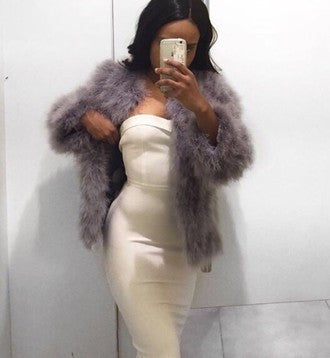 Glam Fur Coat - 10 colors - Awesome World - Online Store  - 9