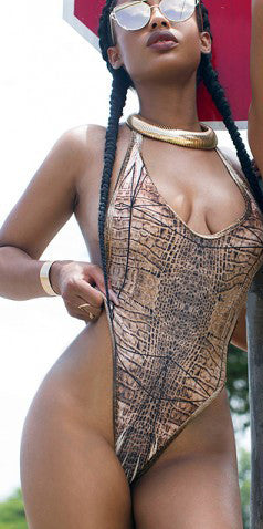 Elegance Animal Monokini