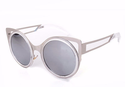 Round Trendy Cat Eye Sunglasses - 6 Colors - Awesome World - Online Store  - 9