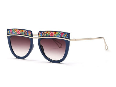 Flowers Top Decorative Sunglasses - Awesome World - Online Store  - 8