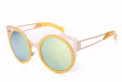 Round Trendy Cat Eye Sunglasses - 6 Colors - Awesome World - Online Store  - 8