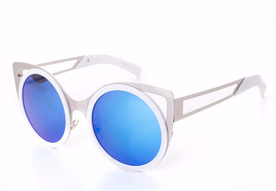Round Trendy Cat Eye Sunglasses - 6 Colors - Awesome World - Online Store  - 7