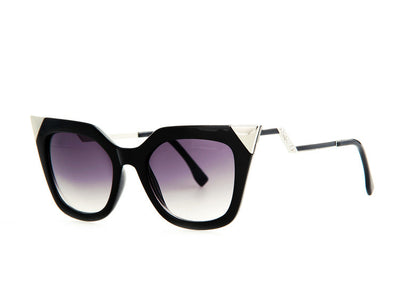 Temple Rhinestone Sunglasses - Awesome World - Online Store  - 2