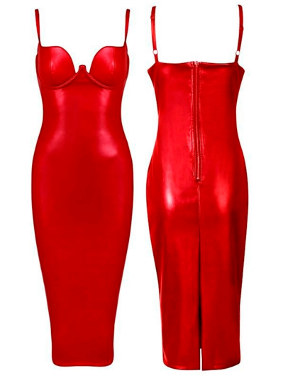 The K Dress - Wine or Red - Awesome World - Online Store  - 5
