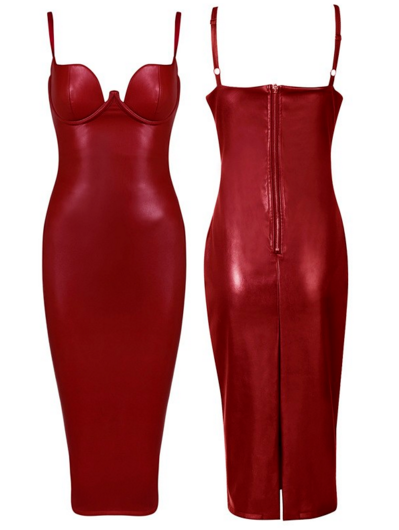 The K Dress - Wine or Red - Awesome World - Online Store  - 6