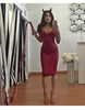 The K Dress - Wine or Red - Awesome World - Online Store  - 2
