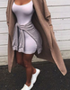 Kim Kylie Simple Dress - 4 Colors - Awesome World - Online Store  - 3
