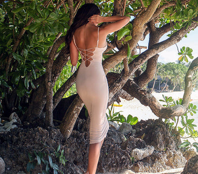 Mi Amore Backless Dress - 4 colors - Awesome World - Online Store  - 6