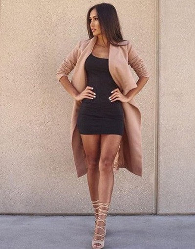 Kim Kylie Simple Dress - 4 Colors - Awesome World - Online Store  - 5