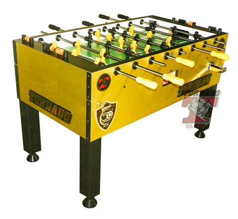 Tornado T-3000 Foosball Table in Gold Limited Edition (Coin)