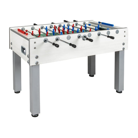 Garlando G-500 White Weatherproof Foosball Table