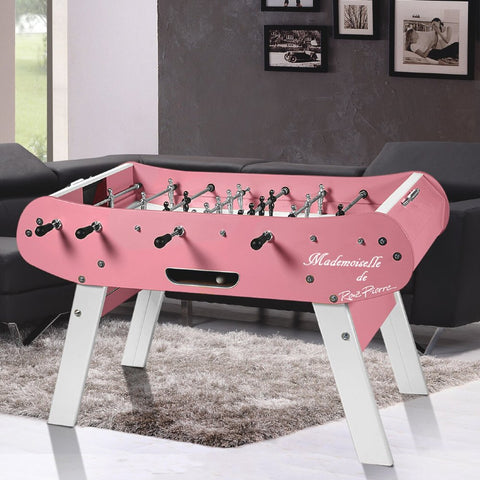Rene Pierre Color Rose / Mademoiselle Foosball Table in Pink