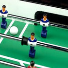 Close view on Burr Oak Foosball Table from Carrom USA which is available at Foosball Planet