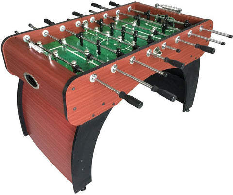 "Picture of Hathaway Metropolitan 54"" Foosball Table in Wood/Red"