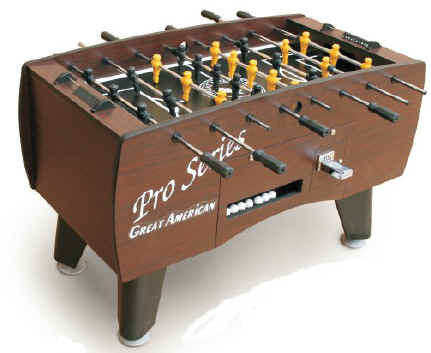 Picture of Great American Pro Series Foosball Table