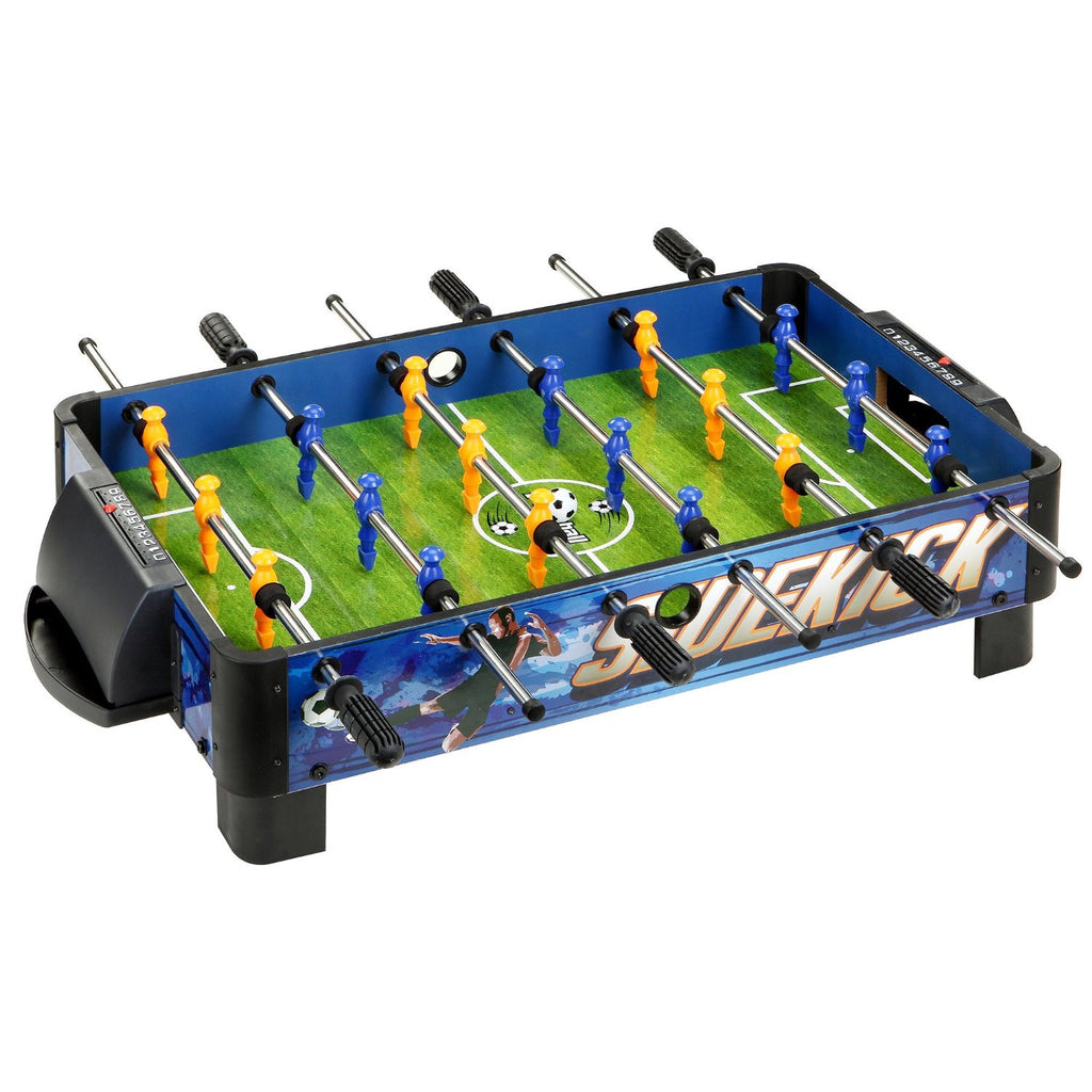 "Picture of Hathaway 38"" Sidekick Foosball Table in Blue/Green"