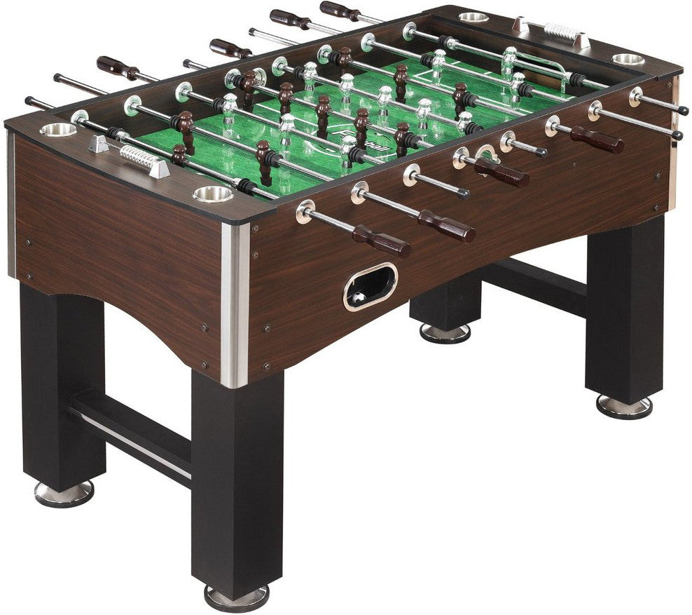 "Hathaway 56"" Primo Foosball Table in Brown"