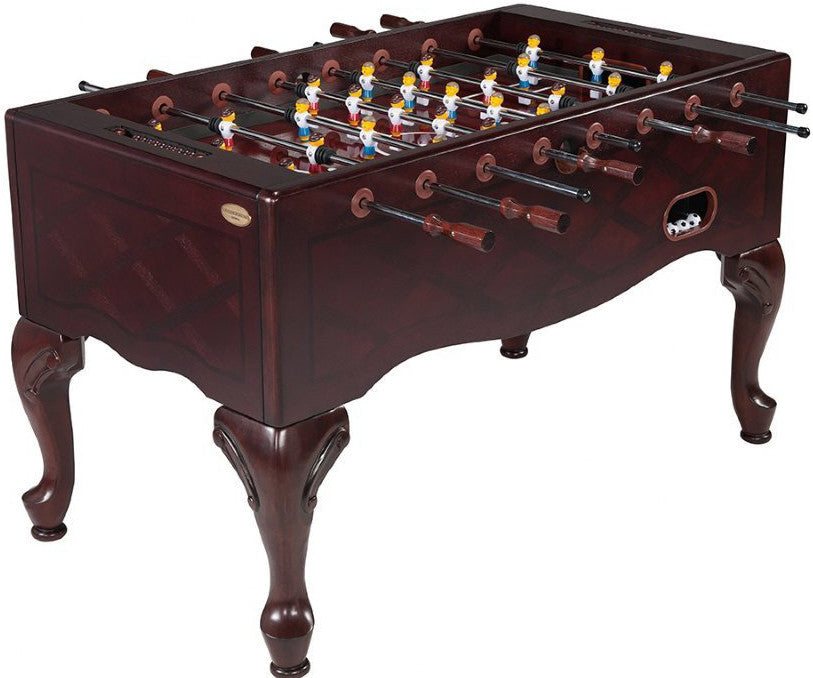 Berner Furniture Style Foosball Table In Mahogany