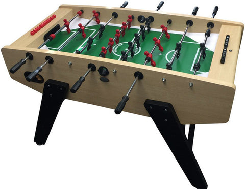 Playcraft Milan - European Foosball Table in Light Maple