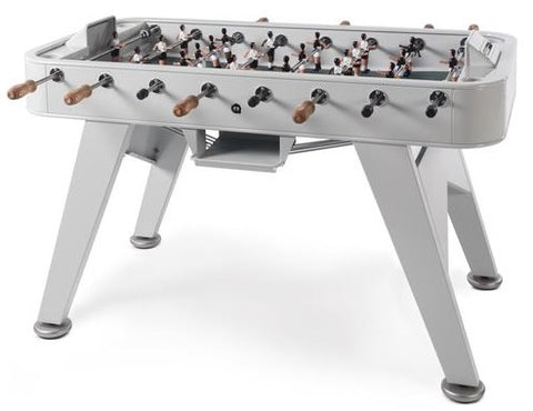 RS Barcelona Silver RS2 Iron Foosball Table