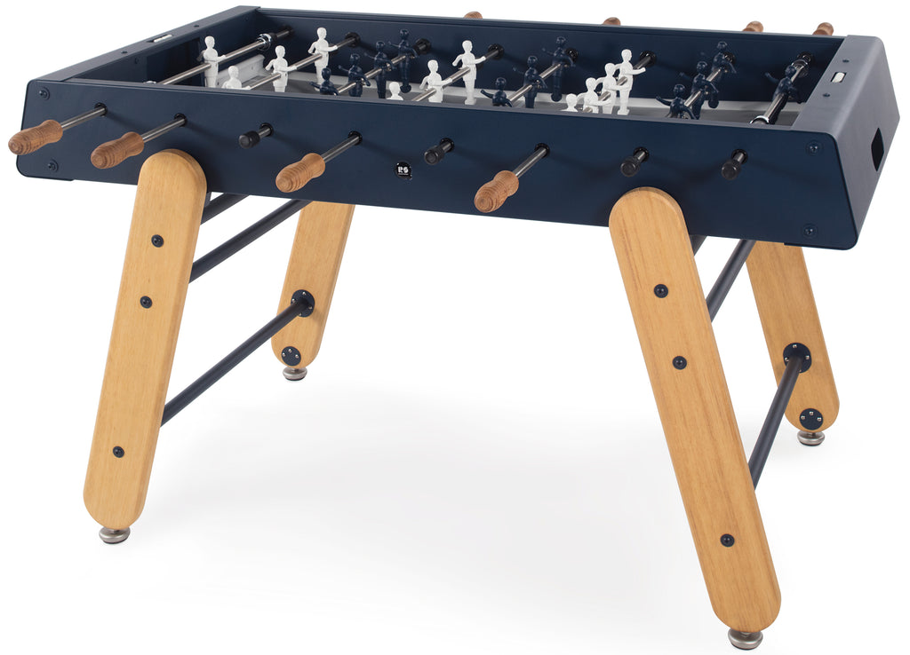 RS Barcelona Steel Blue RS4 Outdoor Foosball Table