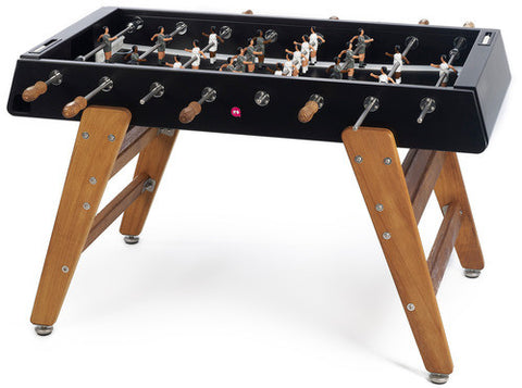 RS Barcelona Black RS3 Wood Outdoor Foosball Table