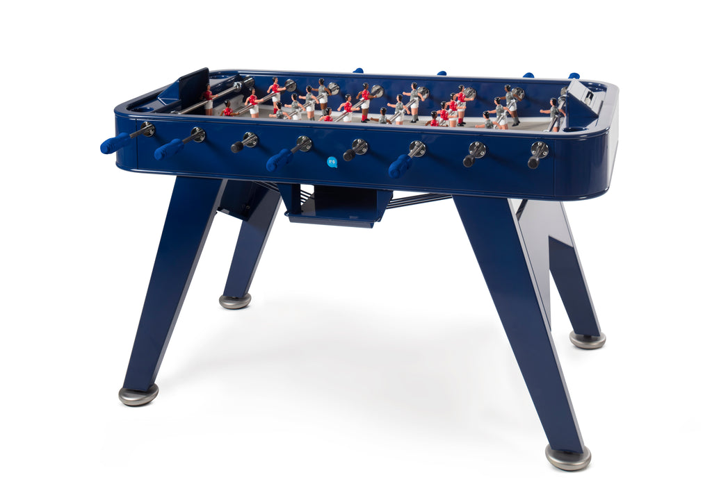 RS Barcelona Blue RS2 Inox Outdoor Foosball Table