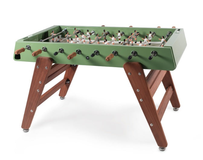 RS Barcelona Green RS3 Wood Outdoor Foosball Table