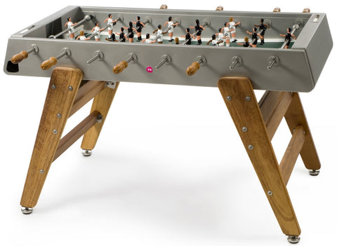 RS Barcelona Inox RS3 Wood Foosball Table