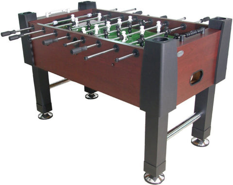 "Berner ""The Player"" Foosball Table in Mahogany"