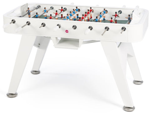 RS Barcelona White RS2 Iron Foosball Table