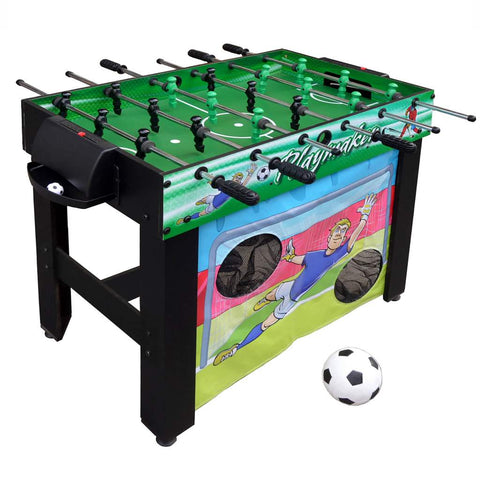 Hathaway Playmaker 3-in-1 Foosball Multi-Game Table