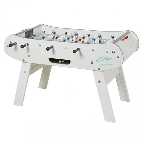 Rene Pierre Elles Foosball Table in White w/ Women Players
