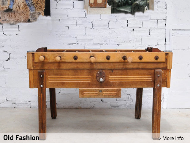 Debuchy by Toulet Old Fashion Foosball Table