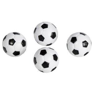 Imperial Cuetec Black and White Foosball 4 Pack