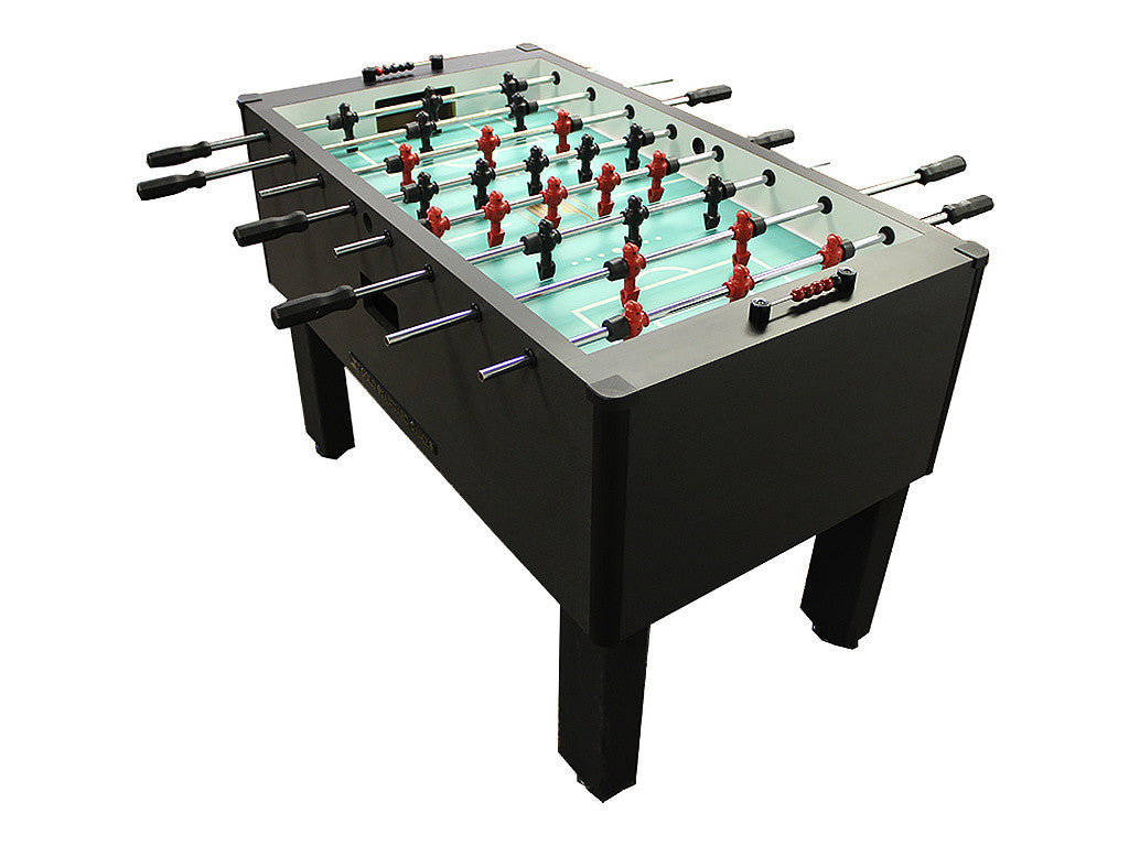 Shelti Home Pro Foosball Table in Charcoal Matrix with Stainless Rods and Black Handles