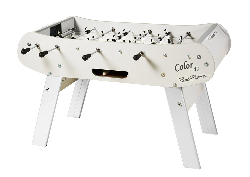 Rene Pierre Color Blanc (White) Foosball Table