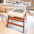 RS Barcelona White RS3 Wood Foosball Table