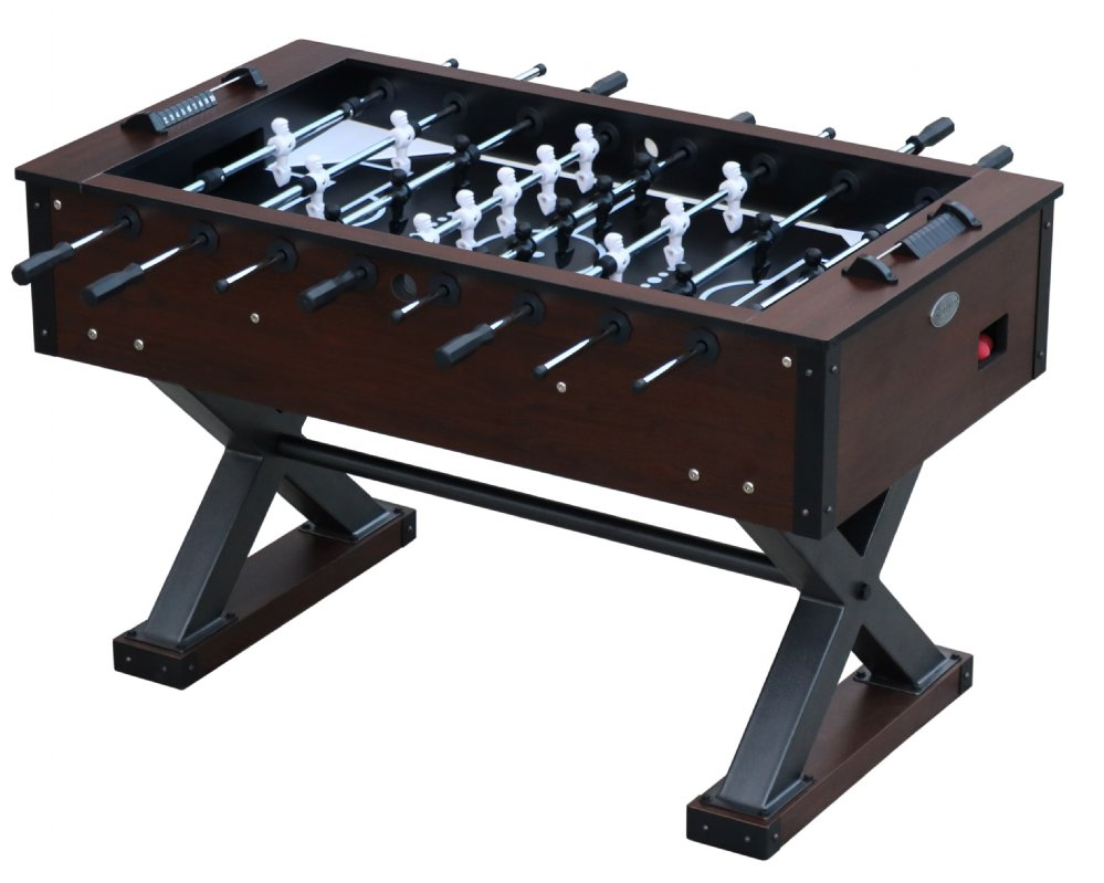 "Berner Billiards ""The X-Treme"" Foosball Table in Walnut"
