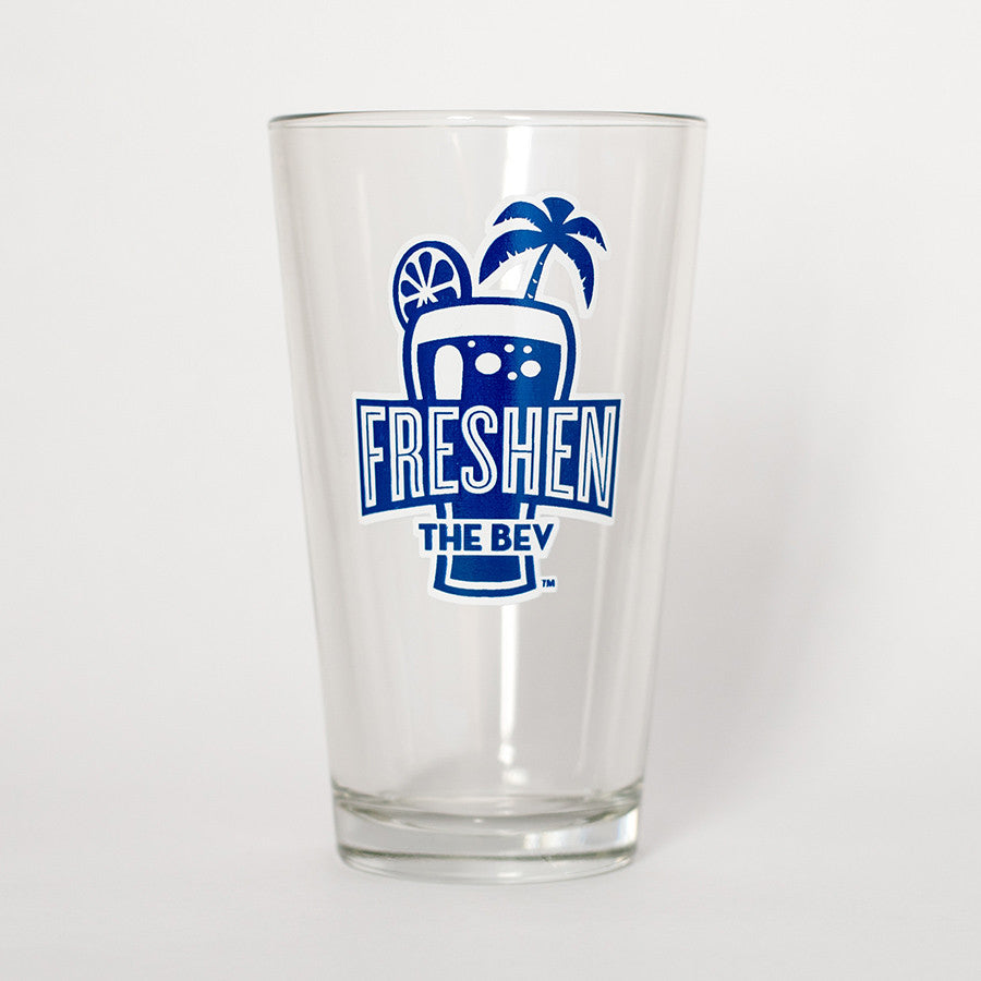 Freshen The Bev Pint Glass