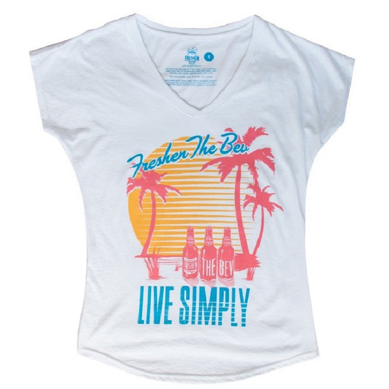 Women's Live Simply V-Neck T-Shirt